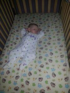 Ava Asleep